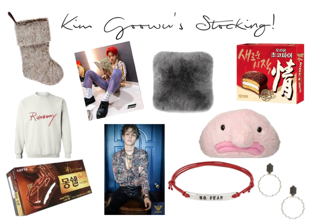 Kim Goowu's Christmas Stocking!!!