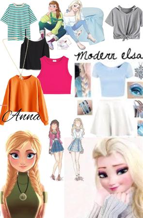 Modernizing Elsa & Anna