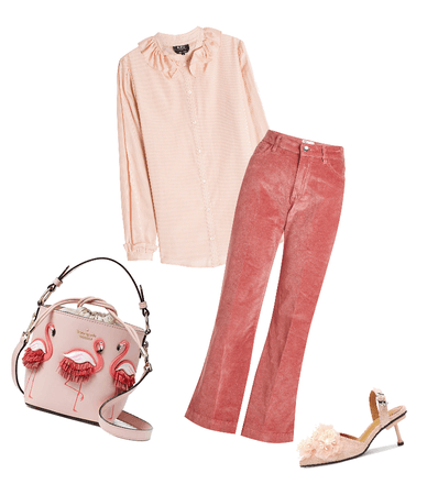 Flamingos and pink