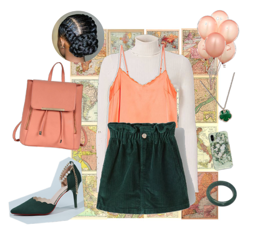 peach&green!