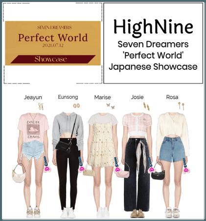 HighNine (하이 나인) Seven Dreamers Japanese Showcase