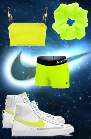 Neon Green Nike Outfit