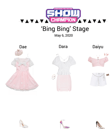 {3D}'Bing Bing' Show Champion Stage