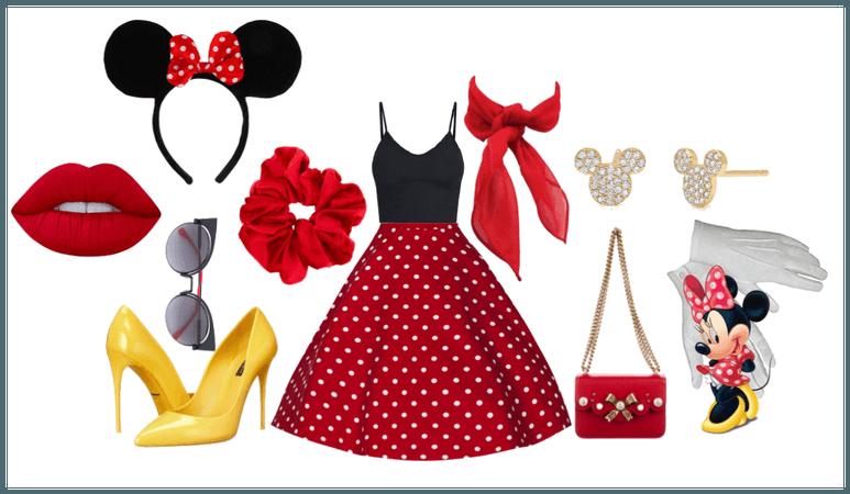 Disney Bounding Minnie Mouse 4/8