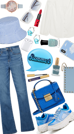 """""""Blue and white summer"""""""