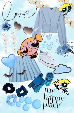 Powerpuff Bubbles Outfit