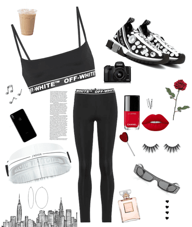 luxury sport Outfit