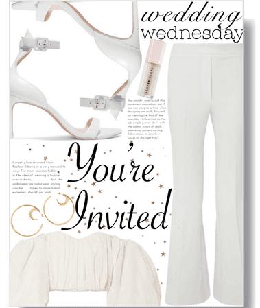 wedding wednesday: courthouse wedding chic