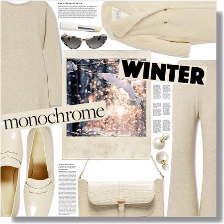 winter monochrome 🤍