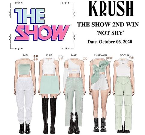 KRUSH Not Shy The Show 2nd Win