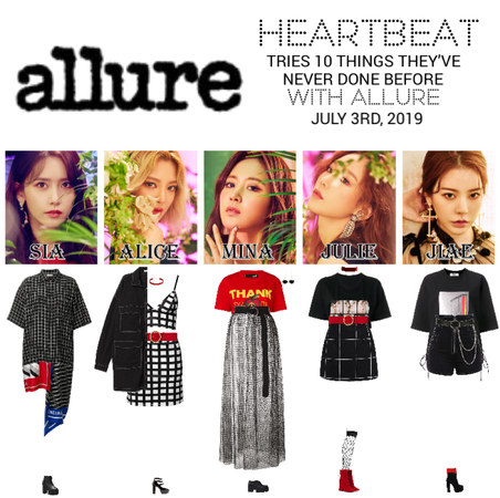 [HEARTBEAT] NEW YORK | ALLURE INTERVIEW