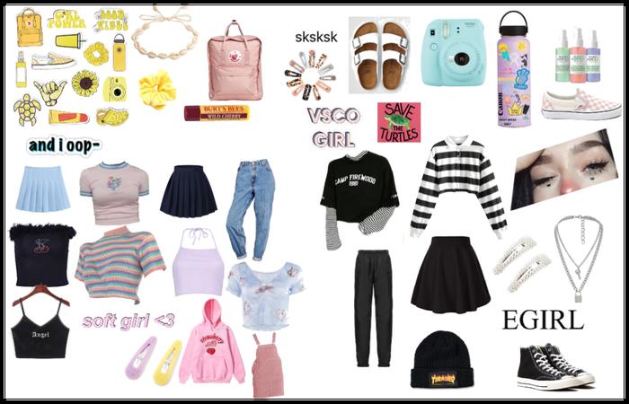 VSCO/E-Girl/Soft
