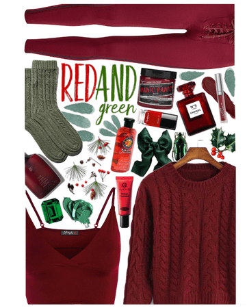 Holidays: Red & Green