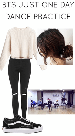 BTS JUST ONE DAY Dance Practice Outfit