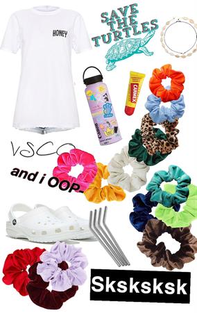 VSCO girl starter kit