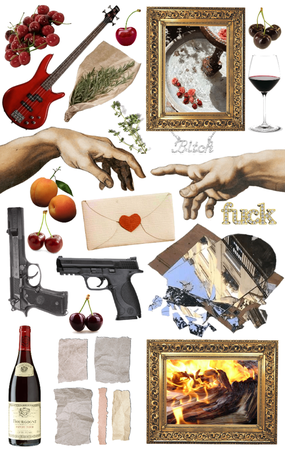 LDR Songs As Mood Board Series: Cherry