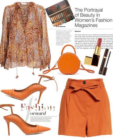 Summer in Burnt Orange