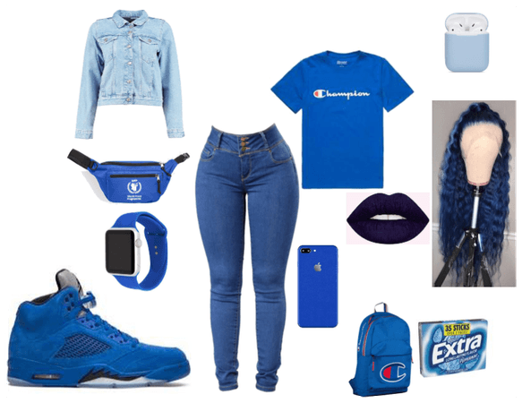 Blue only/ Crip