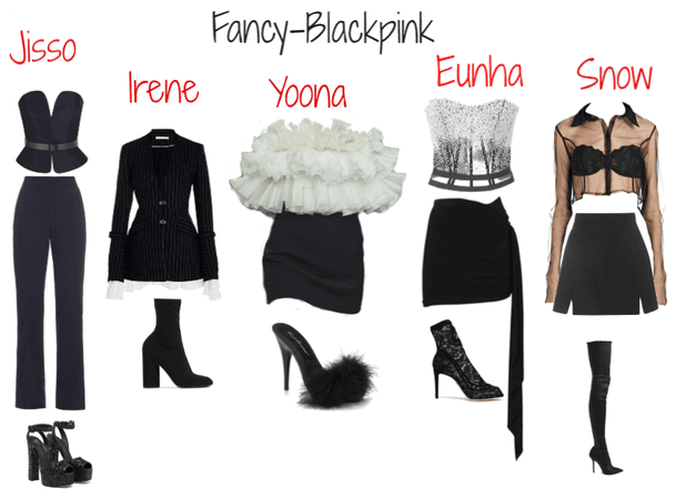 Blackpink  fancy concert outfit