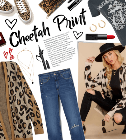 cheetah print outfit
