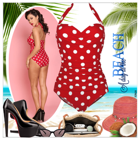 Swimsuits/Cocoship 50s Retro Vintage