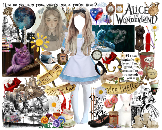Young Alice in Wonderland
