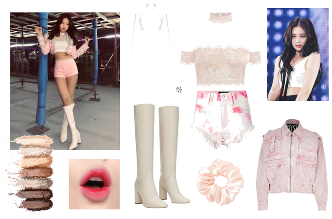 Jennie inspired pink outfit