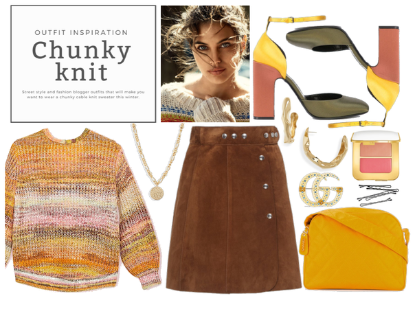 Outfit Inspiration: Chunky Knit