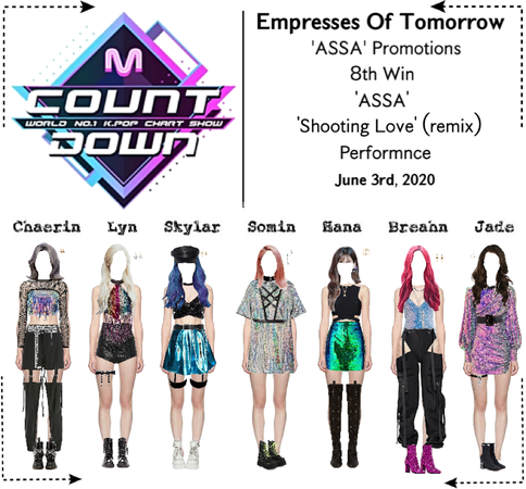 EOT(내일의 황후) | M Countdown 'ASSA' 8th Win