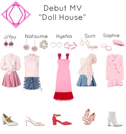 IDolls Debut MV outfits
