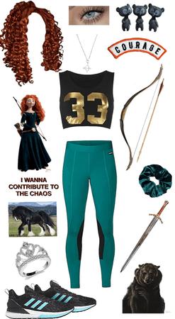 Princess style: Merida