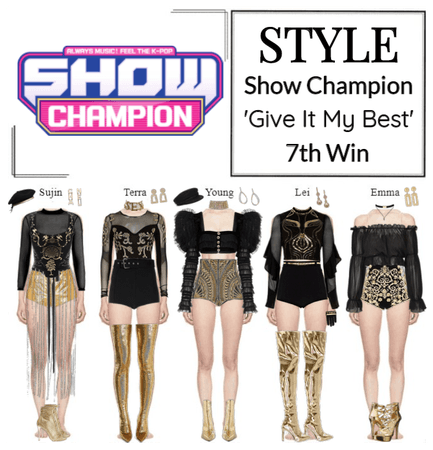 STYLE Show Champion 'Give It My Best'