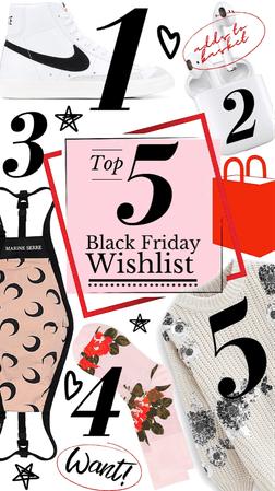 My Top 5 Black Friday Wishlist