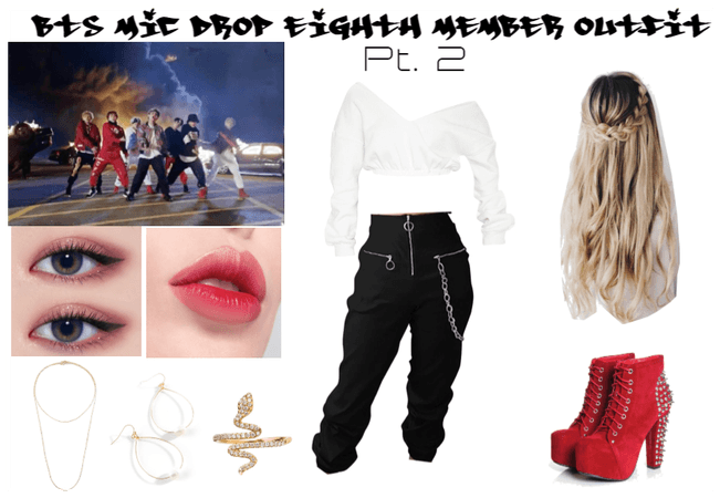 BTS Mic Drop Eighth Member Outfit