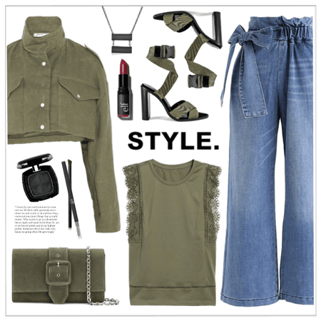 Military Green Chic!