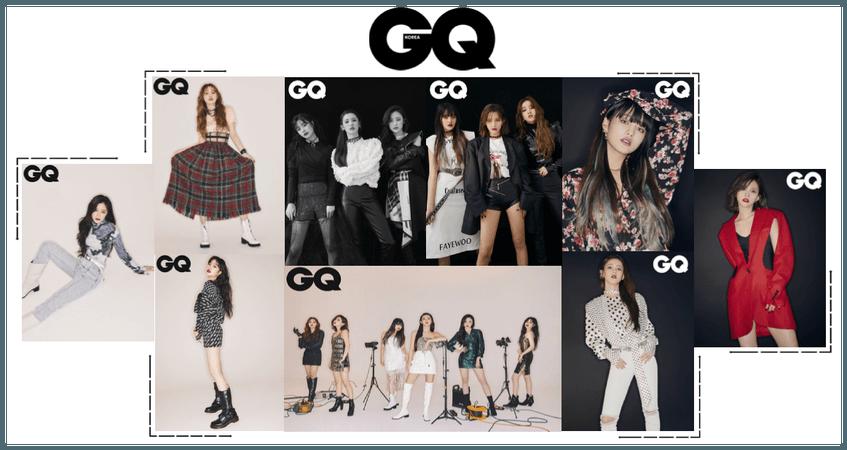 Crushes GQ Magazine Photoshoot