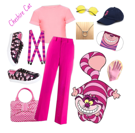 Cheshire Cat outfit - Disneybounding - Disney