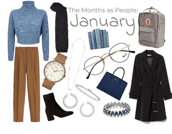 The months as people - part 1