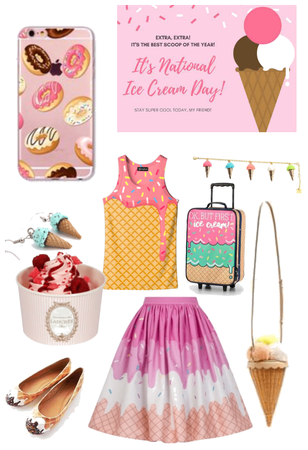 Nat. Ice Cream day outfit