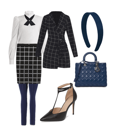 Blair Waldorf Inspired Outfit