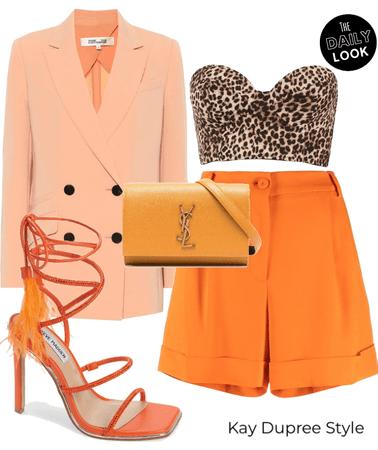 monochromatic (orange)