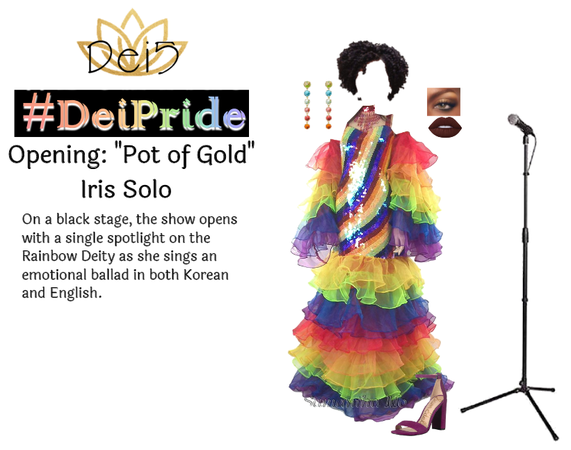 #DeiPride Opening: Pot of Gold by Iris