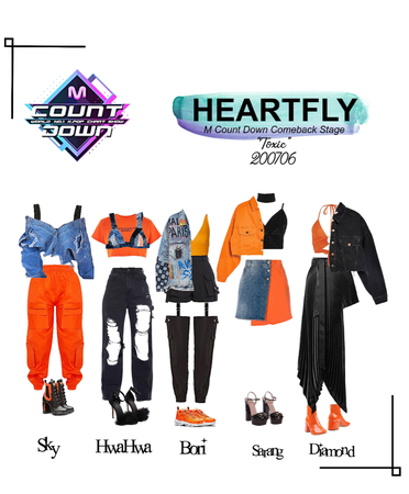 HEARTFLY (하트플라이요) M COUNT DOWN 'TOXIC' STAGE