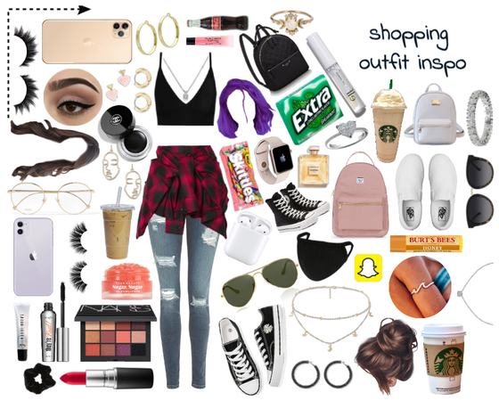 shopping outfit inspo