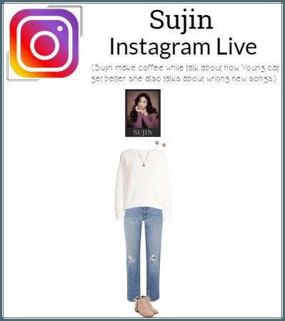 Sujin Instagram Live
