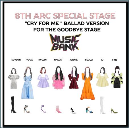 8th Arc goodbye stage