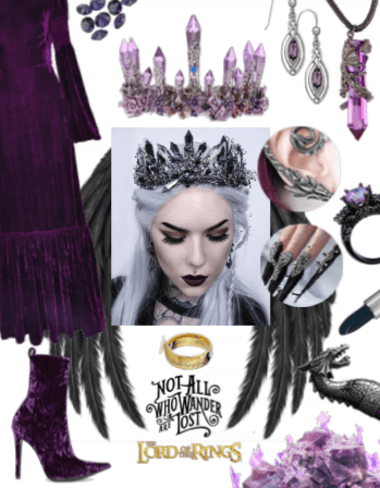dark Dragon Queen - Lord of the Rings