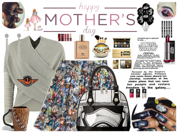 Mother's Day and Star Wars outfit challeng