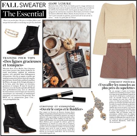 Fall Style Trend: Acorn Earrings & Plaid Skirt