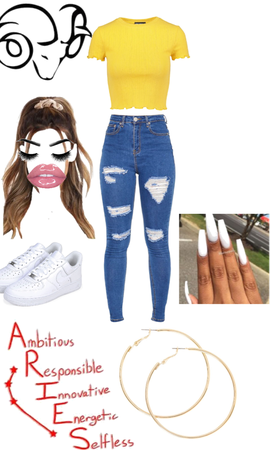 Aries spring outfit